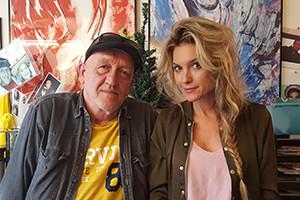 Lauren met Dick de Slakkenman 300-200